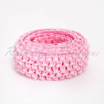 Baby Pink Headband By The Metre 1.5 Inches
